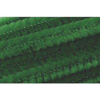 Chenilledraht, 50cm lang, Ø 8mm10 Stück, Farbe: grün