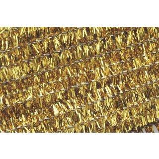 Chenilledraht, 50cm lang, Ø 8mm10 Stück, Farbe: gold