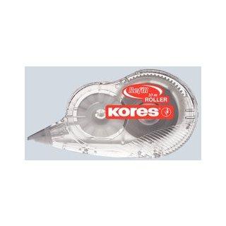 Kores Korrekturroller Mehrweg, 4,2mm x 10m mit Bandstraffer