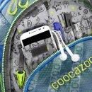 COOCAZOO Schulrucksack ScaleRale MeshFlash Neonyellow