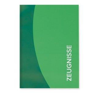 Roth Zeugnismappe Duo, A4, 12 Einlagen, grün