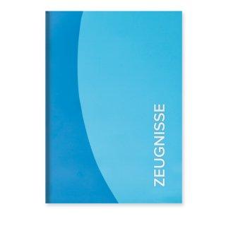 Roth Zeugnismappe Duo, A4, 12 Einlagen, blau