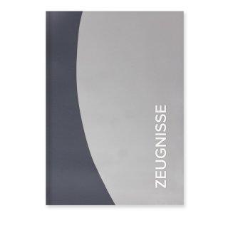 Roth Zeugnismappe Duo, A4, 12 Einlagen, grau