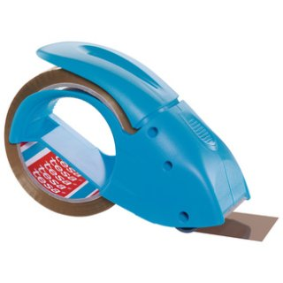 "tesapack Handabroller ""pack n go"", blau, bestückt"
