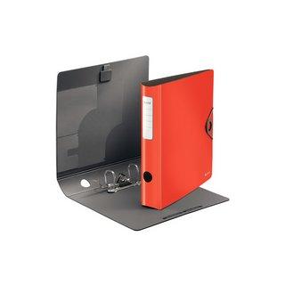 LEITZ Ordner Active Solid, 180 Grad, 65 mm, hellrot