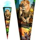 Schultüte Effektschultüte Löwe 85cm mit...