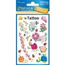 """AVERY Zweckform ZDesign KIDS Tattoos """"Blumen &..."""
