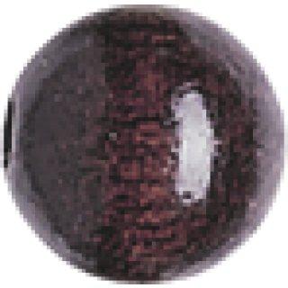Knorr Prandell Holzperlen sepia, 10mm Durchmesser mit durchgehendem Loch, VE=50 Stück