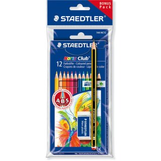 Staedtler Farbstiftetui Noris Club On Pack-Aktion # 66 Set6