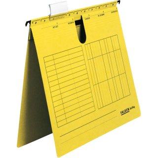 Hängehefter UniReg, gelb 230g/m²-Kraftkarton, kaufm. Heftung