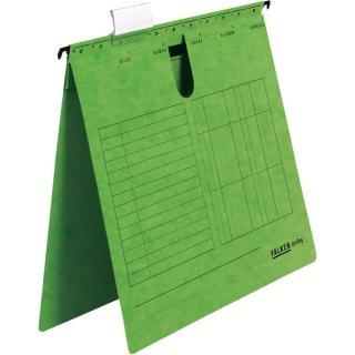 Hängehefter UniReg, grün 230g/m²-Kraftkarton, kaufm. Heftung