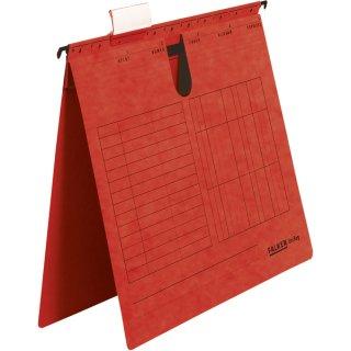 Hängehefter UniReg, rot 230g/m²-Kraftkarton, kaufm. Heftung