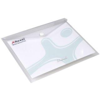Rexel Dokumententasche ICE, DIN A5 quer, PP, transparent