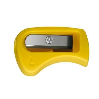Stabilo Easygraph ergonomischer Linkshänderanspitzer, gelb