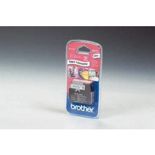 Schriftbandkassette 12mmx8m sw/ws für P-touch 65-5-85-110