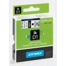 Schriftband 12mm/7m, DYMO 45010, schwarz auf transparent...