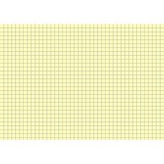 Brunnen Karteikarten A5 kariert, gelb VE=100 Stück