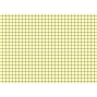 Brunnen Karteikarten A6 kariert, gelb VE=100 Stück