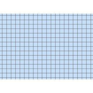 Brunnen Karteikarten A7 kariert, blau, 1 VE = 100 Stück