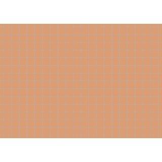 Brunnen Karteikarten A7 kariert, orange, 1 VE = 100 Stück