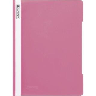 Brunnen hochwertiger Schnellhefter aus PVC- Folie, eosin/rosa  (Fb.26)