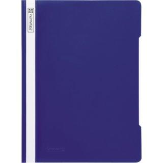 Brunnen hochwertiger Schnellhefter aus PVC- Folie, blau  (Fb.30)