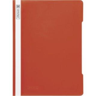 Brunnen hochwertiger Schnellhefter aus PVC- Folie, rot  (Fb.20)