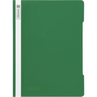 Brunnen hochwertiger Schnellhefter aus PVC- Folie, grün  (Fb.50)
