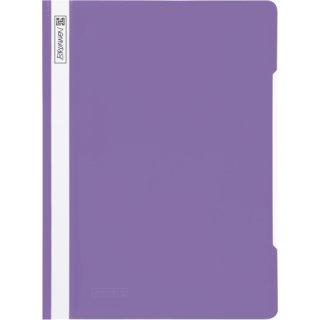 Brunnen hochwertiger Schnellhefter aus PVC- Folie, violett  (Fb.62)