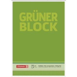 """Brunnen """"Der Grüne Block"""" A4 kariert, 60g/m²  50 Blatt"""