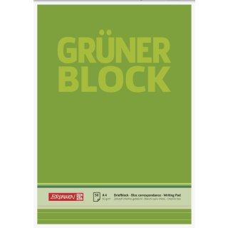"""Brunnen """"Der Grüne Block"""" A4 liniert, 60g 50 Blatt"""