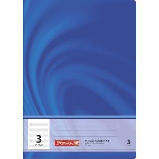 """Brunnen Premium-Schulheft A4 """"Vivendi"""" Lin.  3 16 Blatt 90g/m²"""