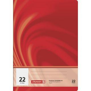 """Brunnen Premium-Schulheft A4 """"Vivendi"""" Lin. 22 16 Blatt 90g/m²"""