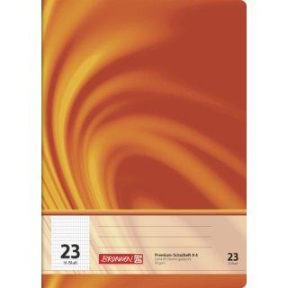 """Brunnen Premium-Schulheft A4 """"Vivendi"""" Lin. 23 16 Blatt 90g/m²"""