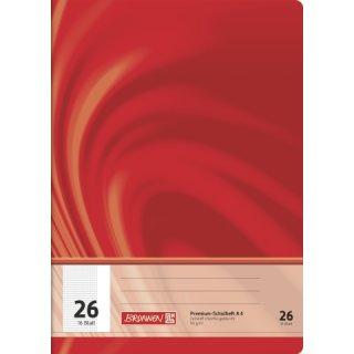 """Brunnen Premium-Schulheft A4 """"Vivendi"""" Lin. 26 16 Blatt  90g/m²"""