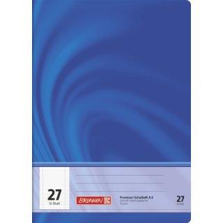 """Brunnen Premium-Schulheft A4 """"Vivendi"""" Lin. 27 16 Blatt  90g/m²"""