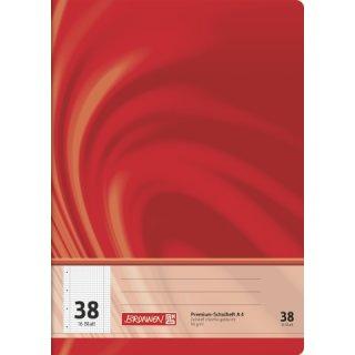 """Brunnen Premium-Schulheft A4 """"Vivendi"""" Lin. 38 16 Blatt  90g/m²"""