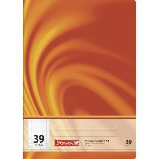 """Brunnen Premium-Schulheft A4 """"Vivendi"""" Lin. 39 16 Blatt  90g/m²"""