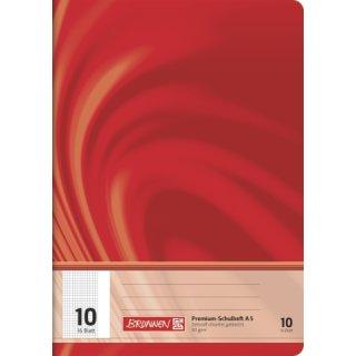 """Brunnen Premium-Schulheft A5 """"Vivendi"""" Lin. 10 16 Blatt  90g/m²"""