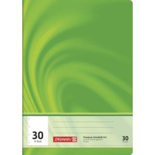 """Brunnen Premium-Schulheft A4 """"Vivendi"""" Lin. 30 16 Blatt  90g/m²"""