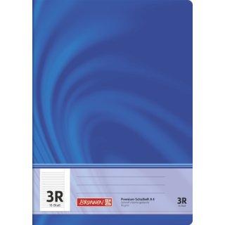 """Brunnen Premium-Schulheft A4 """"Vivendi"""" Lin.  3R 16 Blatt 90g/m²"""