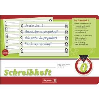 Brunnen Schreiblernheft A5 quer Lin.0 16 Blatt