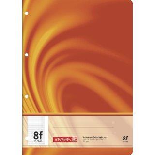 """Brunnen Premium-Schulheft A4 """"Vivendi"""" Lin.  8f 16 Blatt 90g/m²"""