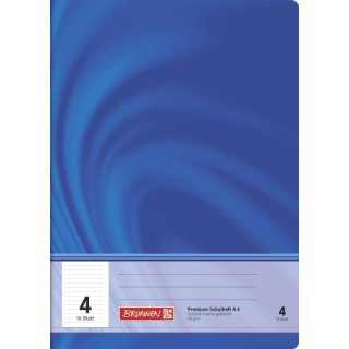 """Brunnen Premium-Schulheft A4 """"Vivendi"""" Lin.  4 16 Blatt 90g/m²"""
