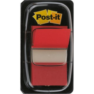 Index Post-it 680 rot 25,4x43,2mm