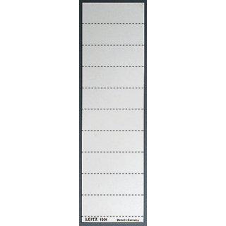 Schild 4zeil. Sichtreiter weiß 100 Stück