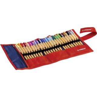 Stabilo point 88 Tintenschreiber, Fineliner 88/25-021 Rollerset aus Nylon 25St in 25 Farben