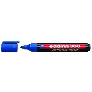 Industrie Permanentmarker 300 Rundspitze blau, 1,5-3mm
