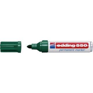 Permanentmarker Rundspitze 3-4mm grün nachfüllbar mit edding T25