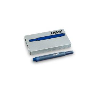 Lamy Tintenpatronen T10 blau-schwarz  VE=5